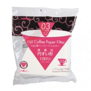 Paper Filter White for 03 Dripper 100sheets