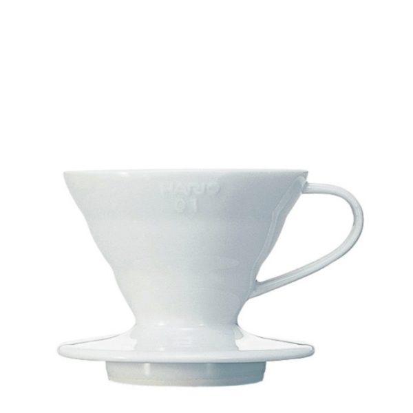 Hario Coffee Dripper V60 01 Ceramic white