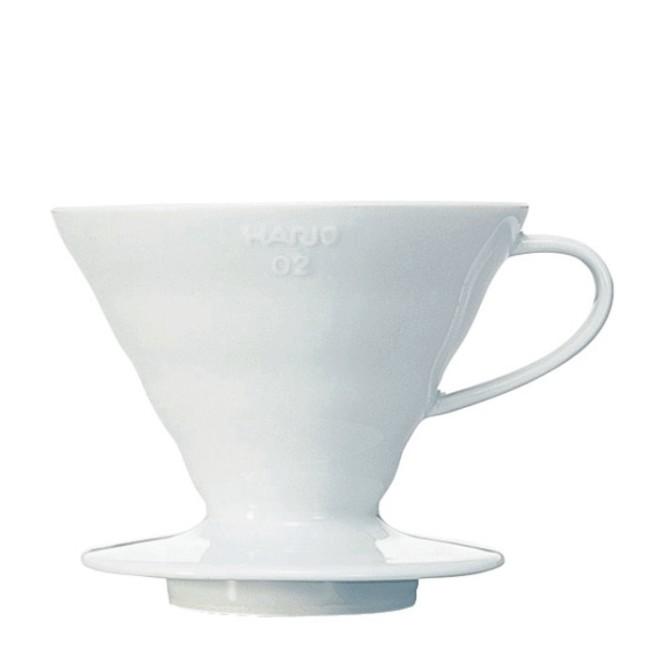 Hario Coffee Dripper V60 02 Ceramic white
